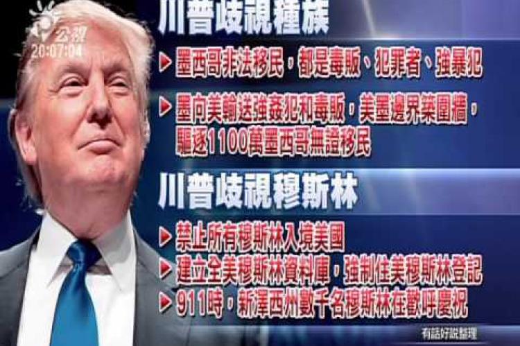 Embedded thumbnail for 川普當選總統?經濟學人:全球危機!