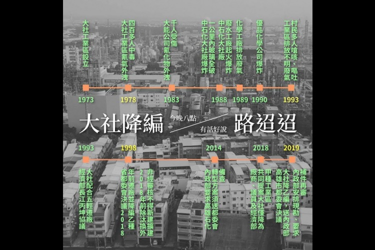 Embedded thumbnail for 高雄石化宿命無解?大社工業區降編恐跳票?