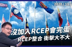 Embedded thumbnail for RCEP排除台灣!衝擊不大免煩惱?